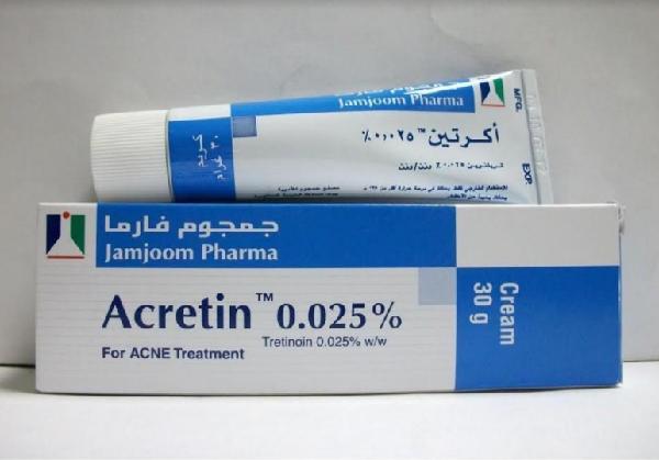 سعر ودواعي استعمال كريم اكرتين Acretin لعلاج حب الشباب