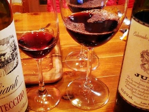 コレを作っていたらやっぱりワインが飲みたくなりました