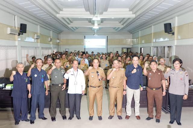 Kodim Karanganyar - BPS Kabupaten Karanganyar Gelar Rakor Sensus Penduduk 2020