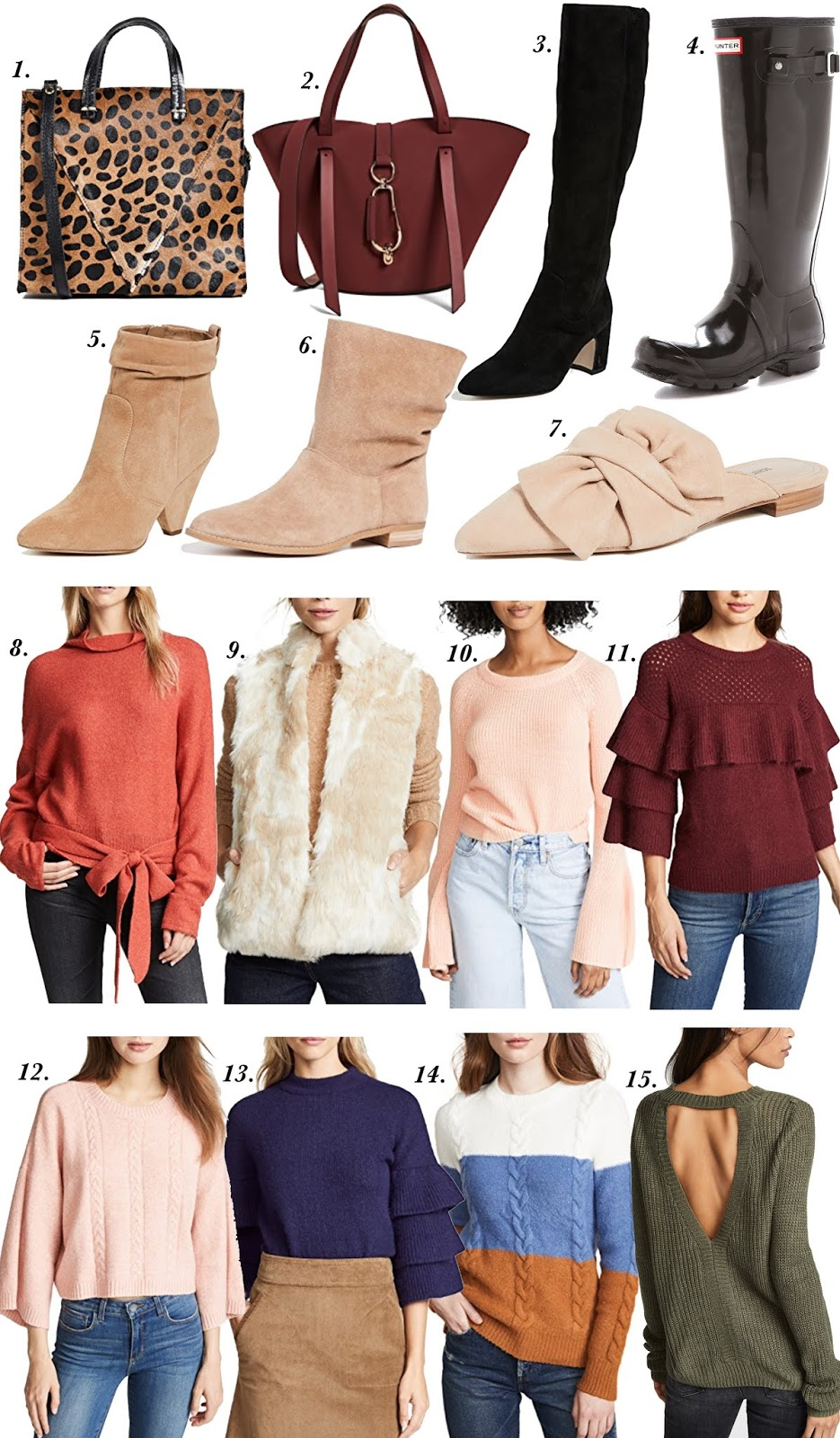 Shopbop Fall Sale - 20-25% off with code STOCKUP18 - Something Delightful Blog