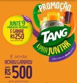 Cadastrar Embalagens Tang Trocar Por Prêmios Nova Promoção 2019 É Pra Juntar