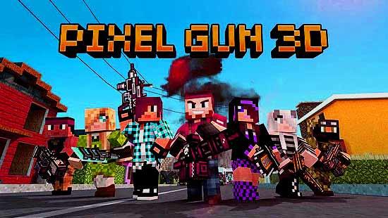 Pixel Gun 3D Mod Apk