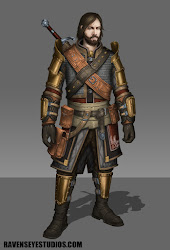 fantasy warrior concept artwork character medieval lacey travis male armor characters artstation warriors soldiers sword rpg paladin game deviantart swords