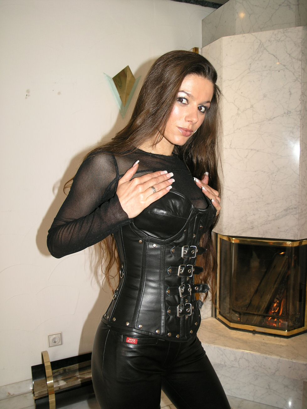 Lovely Ladies In Leather Miscellaneous Leather 16 Tight -6195