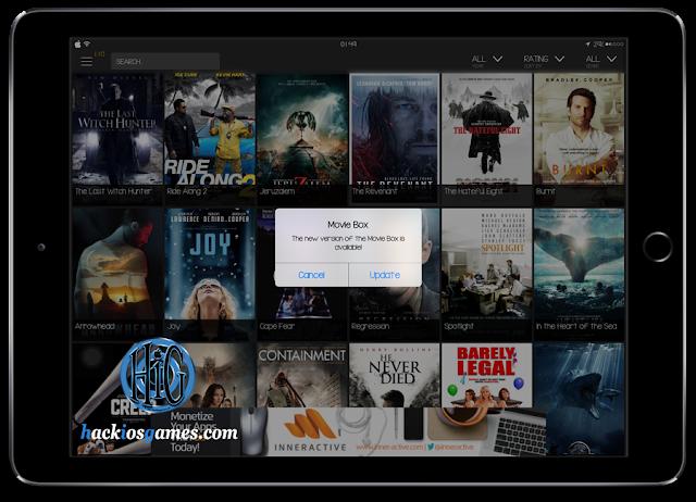 Download And Install MovieBox iOS 9.x No Jailbreak