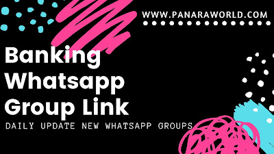 Banking Whatsapp Group Link