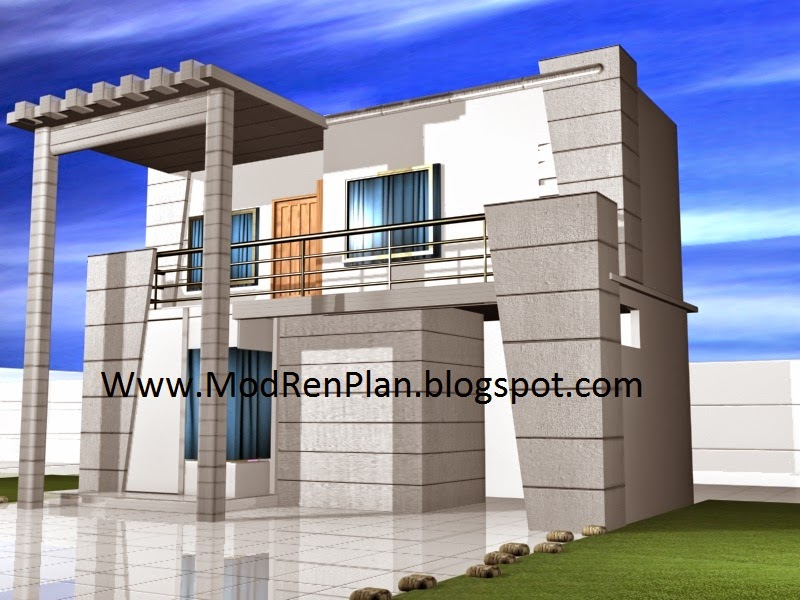 1 Canal House Front Elevation|Best architect house design