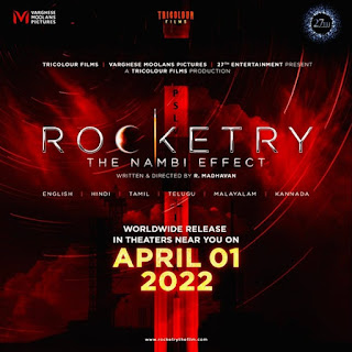 Rocketry – The Nambi Effect First Look Poster 3