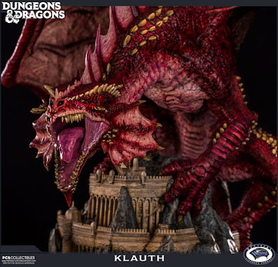 PREORDINE - PCS - DUNGEONS AND DRAGONS KLAUTH STATUE - SCADENZA 23/04
