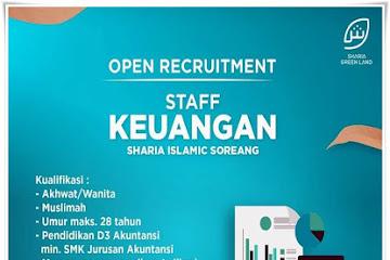Lowongan Kerja Staff Accounting Sharia Islamic Soreang