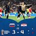 روسيا تخرج من الباب الكبير وكرواتيا تضرب موعد مع إنجلترا فى نصف النهائى