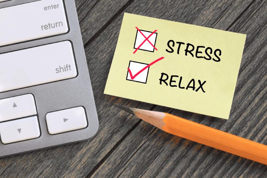 Para se manter livre do estresse
