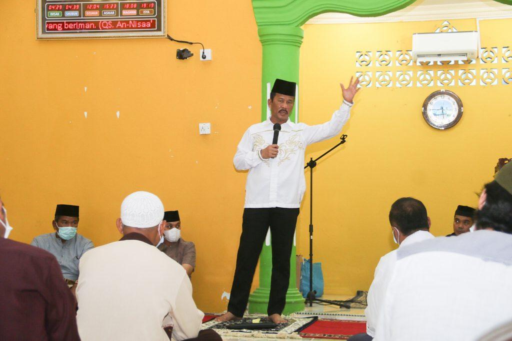 Safari Ramadhan, Rudi Minta Masyarakat Melaksanakan Prokes Dengan Ketat