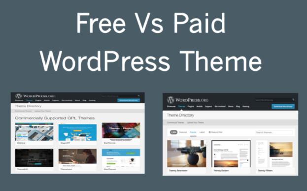 Free vs. Paid WordPress Themes