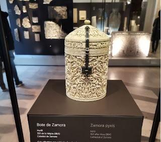 Madrid, Museo Arqueológico Nacional. El Bote de Zamora.