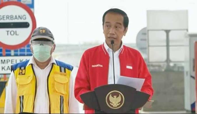 jokowi resmikan tol trans sumatera