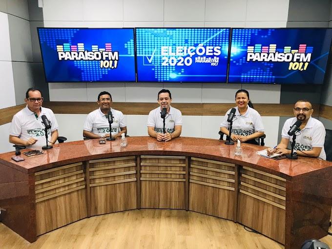 Cobertura das Eleições 2020 na Paraíso Fm de Sobral