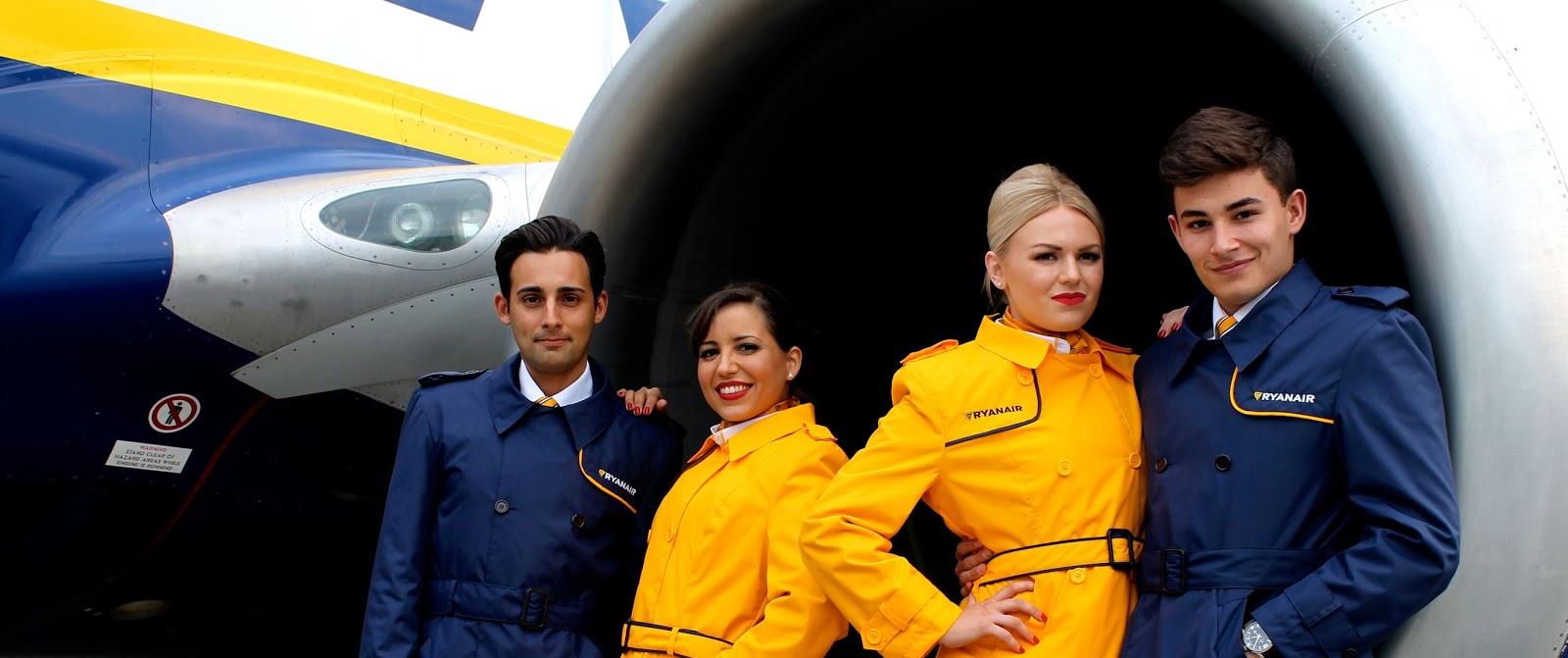 Ryanair Cabin Crew – Ryanair Careers - Hospitality Job4u
