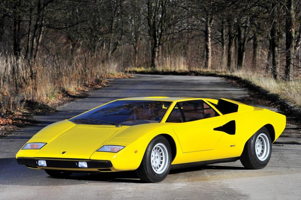 10 mẫu xe Lamborghini hiếm có từng được sản xuất