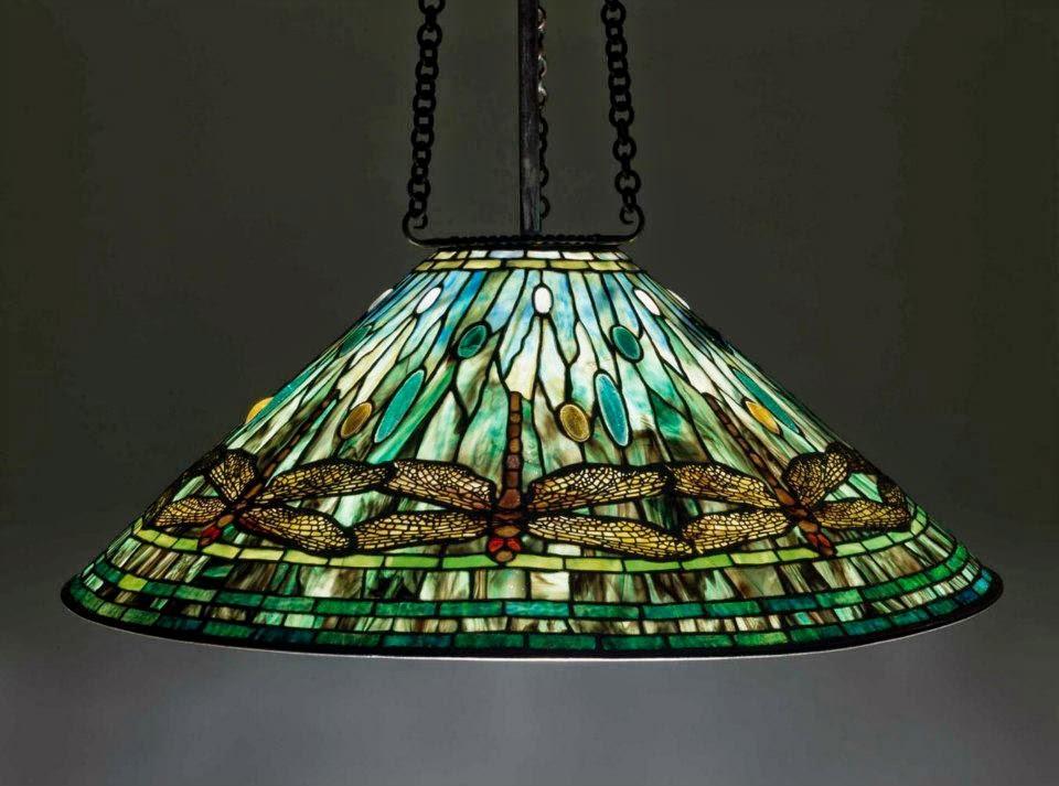 51030b38f406 North America Decorative Arts  Dragonfly Hanging Lamp (Clara Driscoll for  Tiffany Studios)