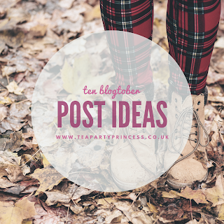 Ten Blogtober Post Ideas for Bookworms