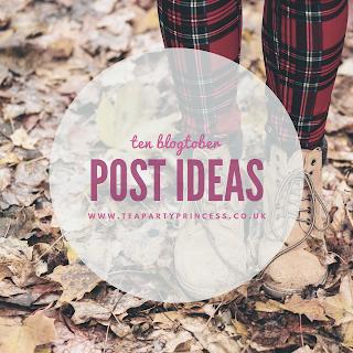 Ten Blogtober Post Ideas for Bookworms
