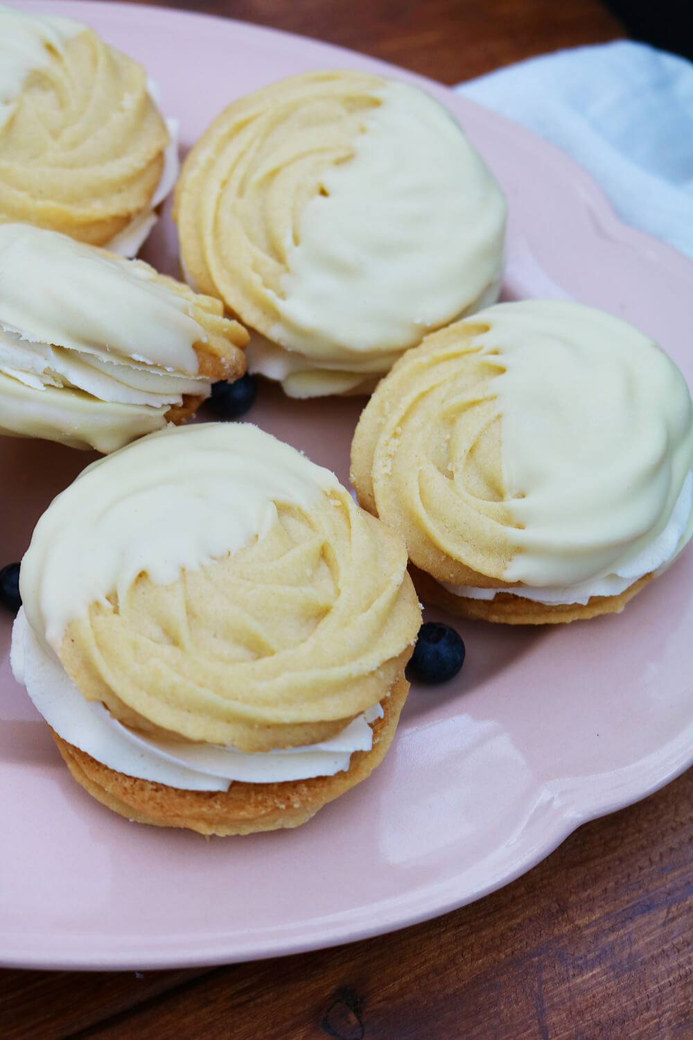 Blueberry Viennese Whirls | Take Some Whisks
