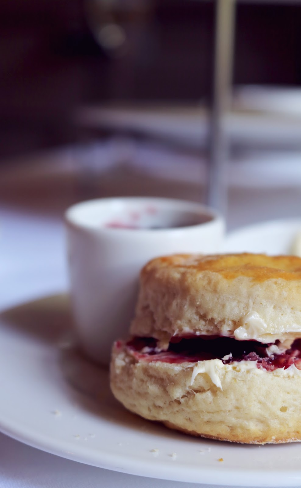Afternoon Tea at Jesmond Dene House, Newcastle.
