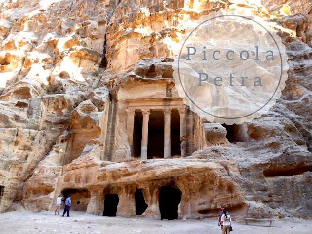 Piccola Petra tempio di Dushara