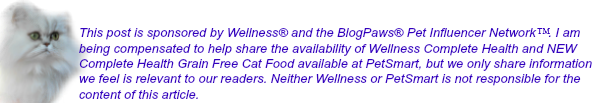 Disclosure - sponsored post by Wellness® and BlogPaws®