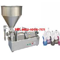 Paste Fiston Filler (mesin pengisi cairan pasta ke botol)