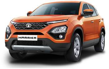 New Tata Harrier front show