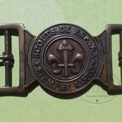 Hebilla scout. Coleccionistas Scouts Independientes