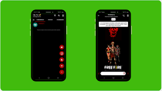 THEME WHATSAPP (GB, YO) - FREE FIRE BLACK