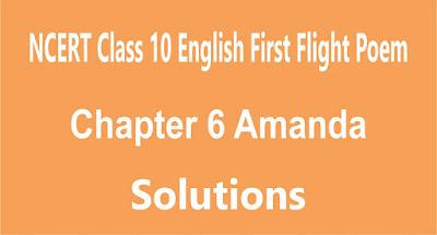Chapter 6 Amanda