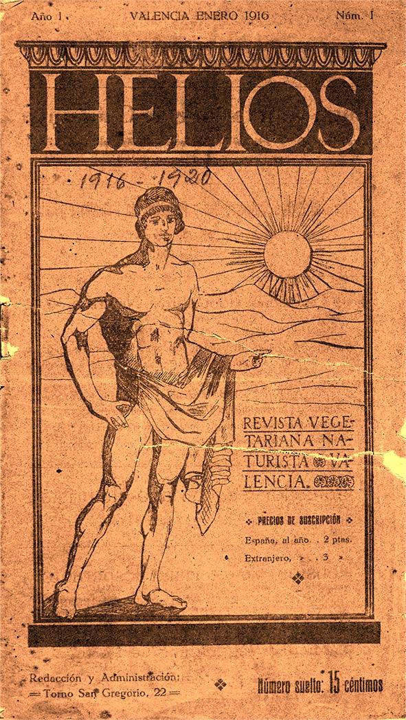 Portada revista Helios junio 1932