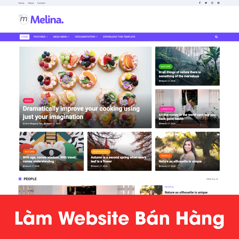 [A121] Dịch vụ thiết kế website ẩm thực chuyên nghiệp, hút khách nhất