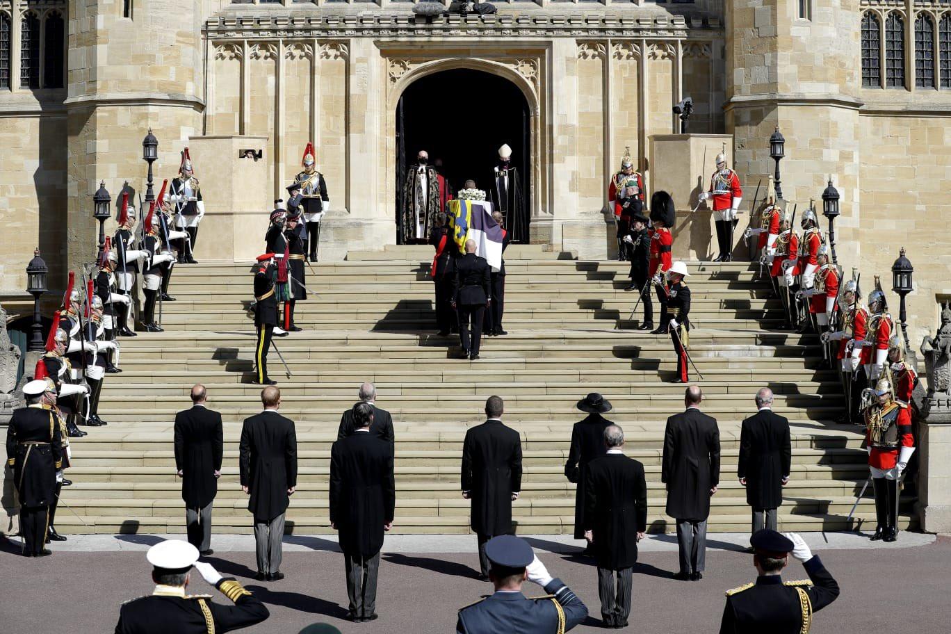 Pogrzeb księcia Edynburga.