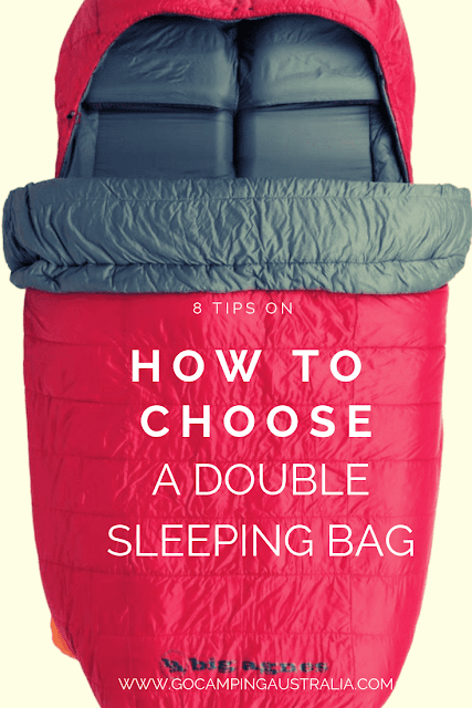 8 tips on sleeping bag choice for a double