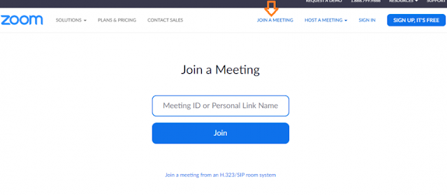 Click Join Meeting