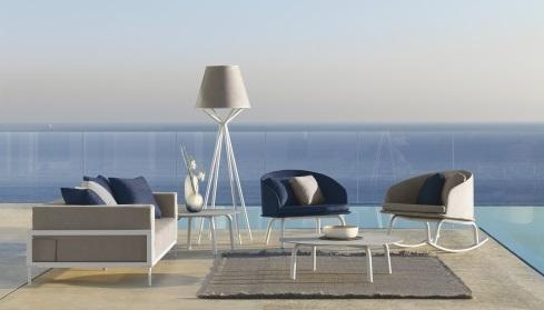 talenti-cleo-alu-garden-rocking-armchair