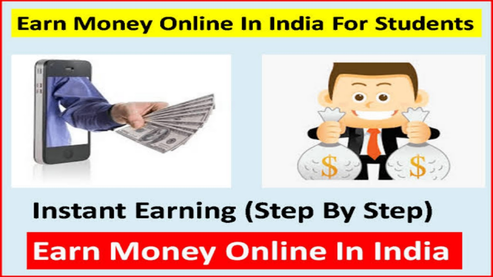 Earn Money Online in India for Students, Earn Money Online, Earn Money Online in India, Earn Money Online for Students