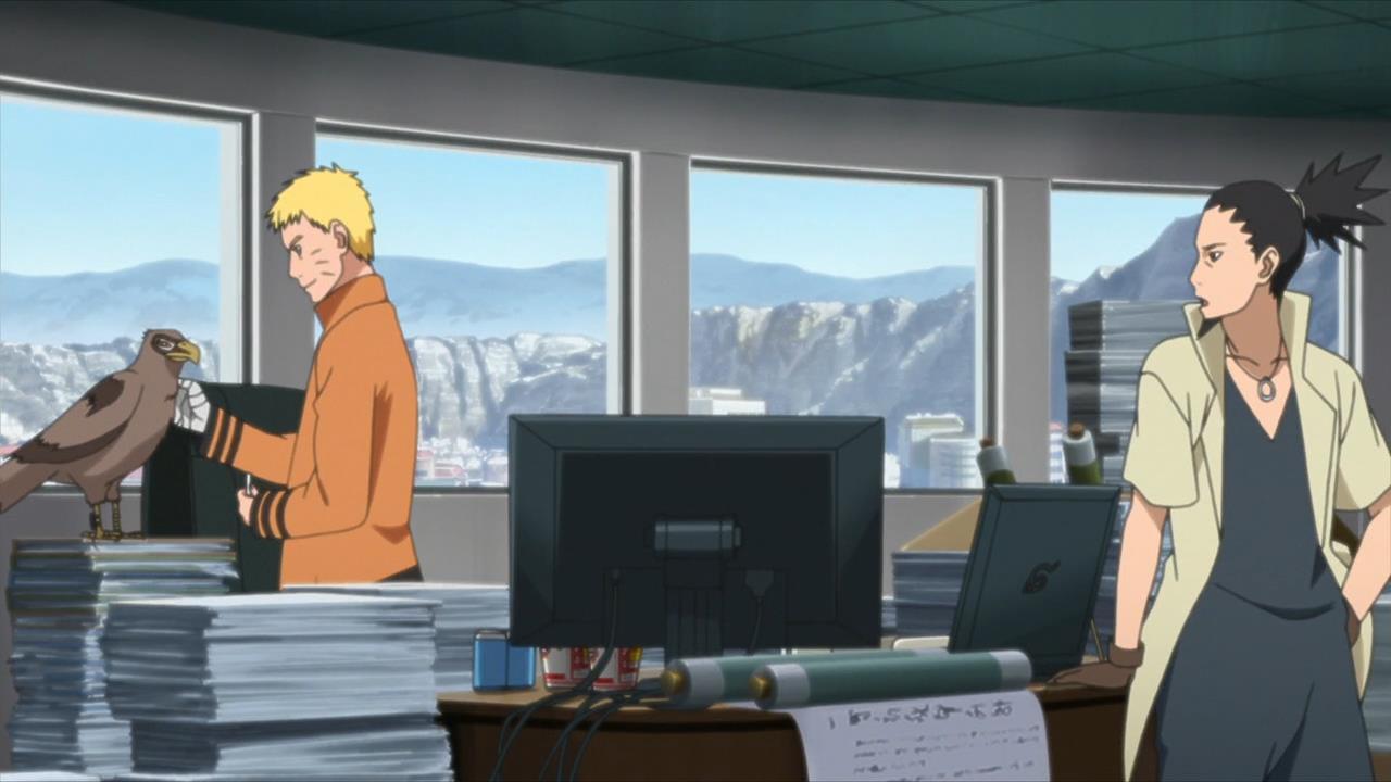 Pengawal Kage di Anime Boruto