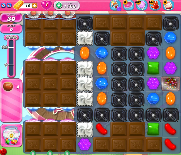 Candy Crush Saga 1763