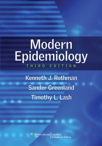 Rothman Dịch tễ học Hiện đại 3e