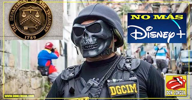 EEUU Sancionó al DGCIM - Funcionarios ya no podrán ir a Disney