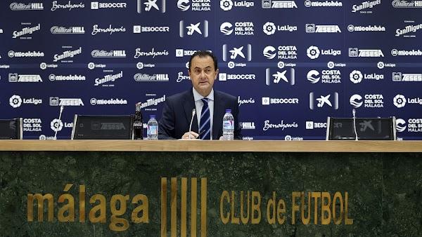 """José María Muñoz: """"El Málaga necesita apoyo de Málaga"""""""