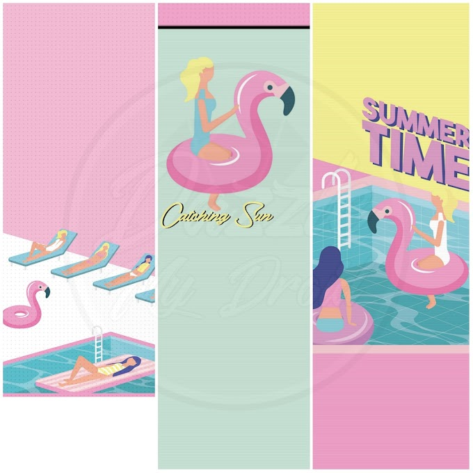 Summer Sunshine Wallpaper Set