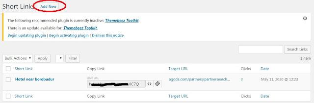 memperpendek dan menyamarkan URL