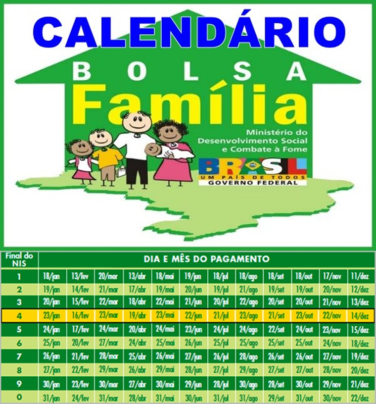 Beneficiários do Bolsa Família já podem consultar calendário de pagamentos para 2017